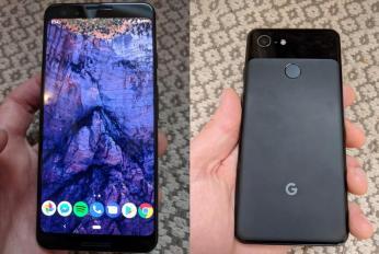 Google Pixel 3 Schwarz Leak Header
