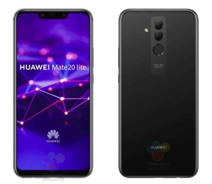 Huawei Mate 20 Lite Schwarz