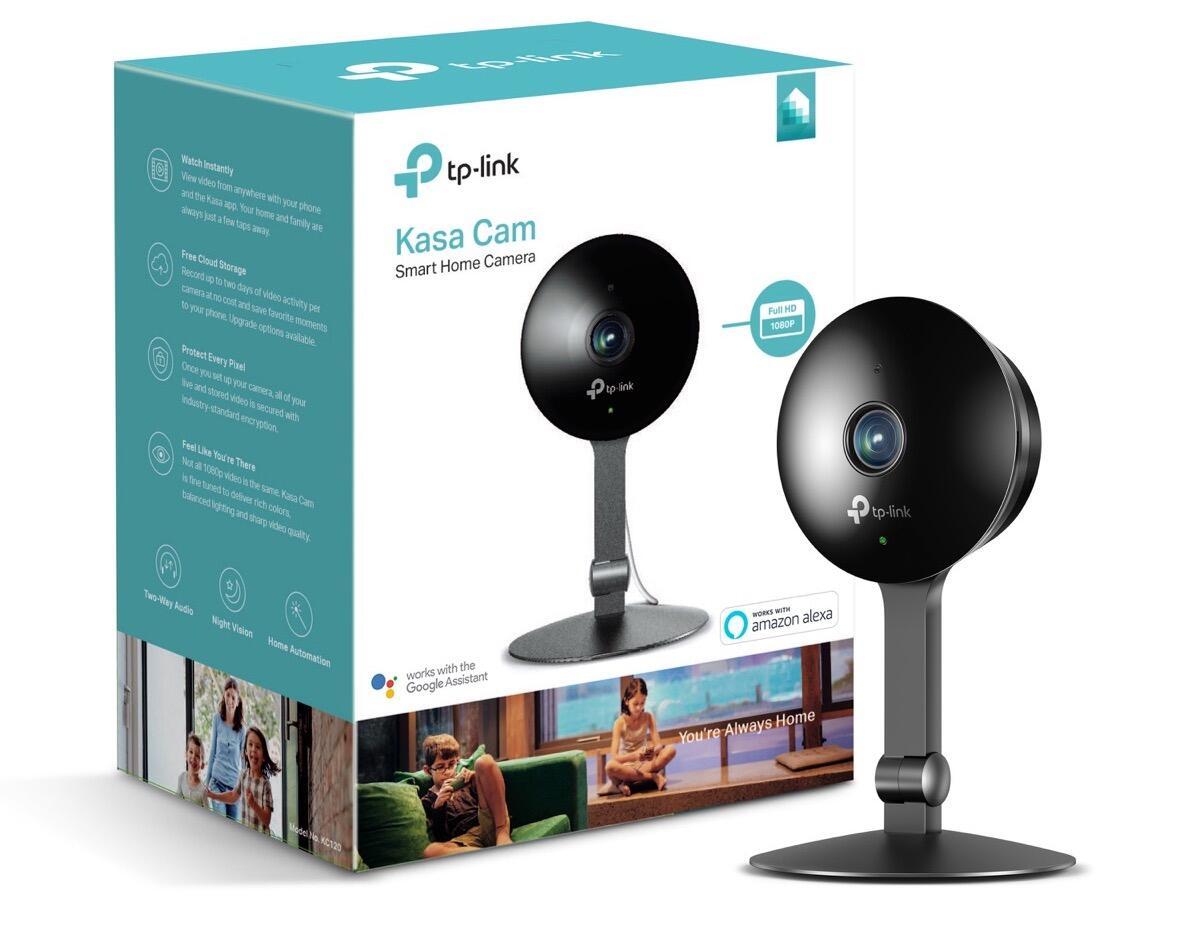 tp link kasa zwei neue cloud kameras. Black Bedroom Furniture Sets. Home Design Ideas
