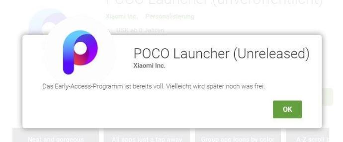Poco Launcher Beta
