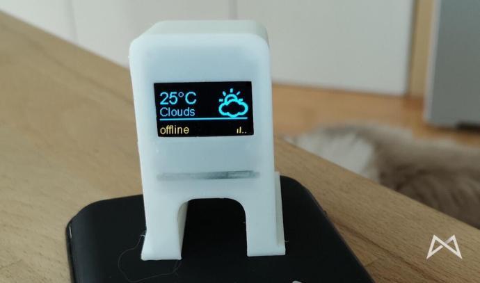 Printer Monitor Arduino Wetter