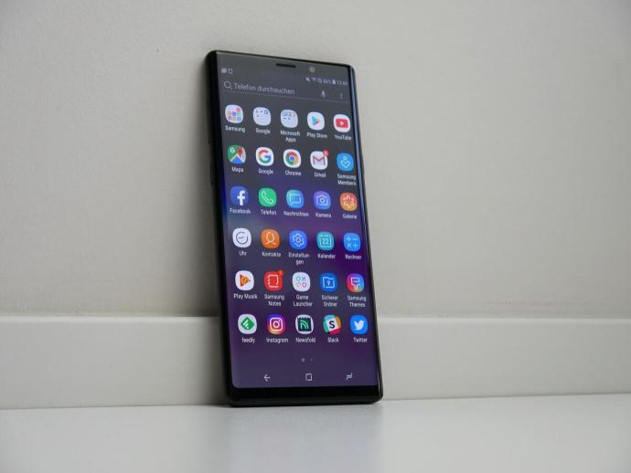Samsung Galaxy Note 9 Apps