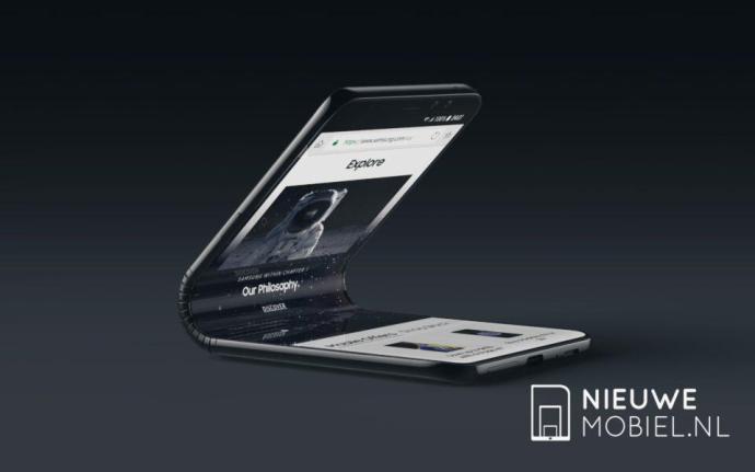 Samsung Smartphone Faltbar Konzept4