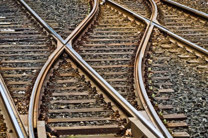 Schiene Bahn