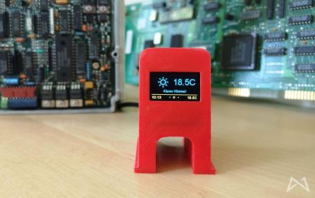 Weatherstation Aktuelle Temperatur