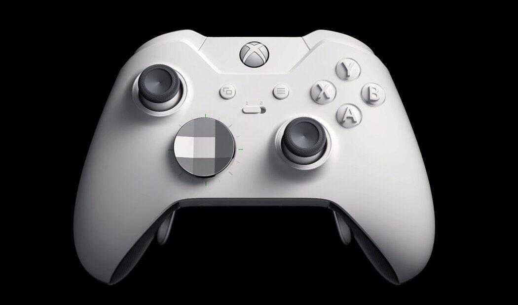 Xbox Elite Controller Weiss