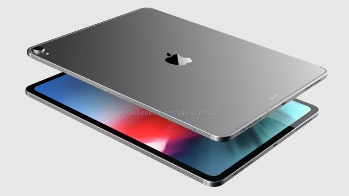 Apple Ipad Pro 2018 Render1