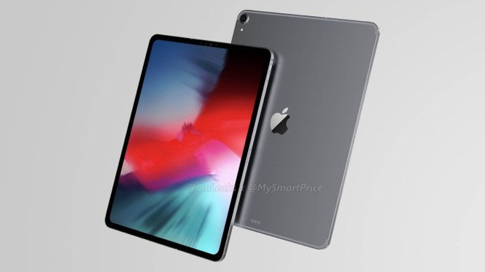 Apple Ipad Pro 2018 Render2