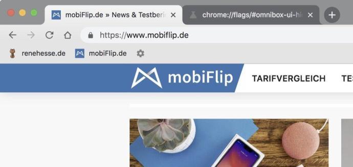 Chrome Url Anzeigen