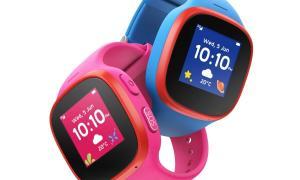 Die V Kids Watch By Vodafone Verbindet Eltern Sicher Mit Ihren Kindern Blau Pink