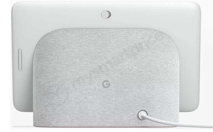 Google Home Hub Back
