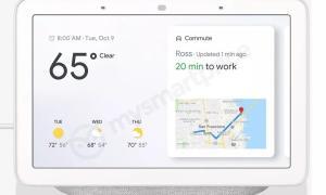 Google Home Hub Front