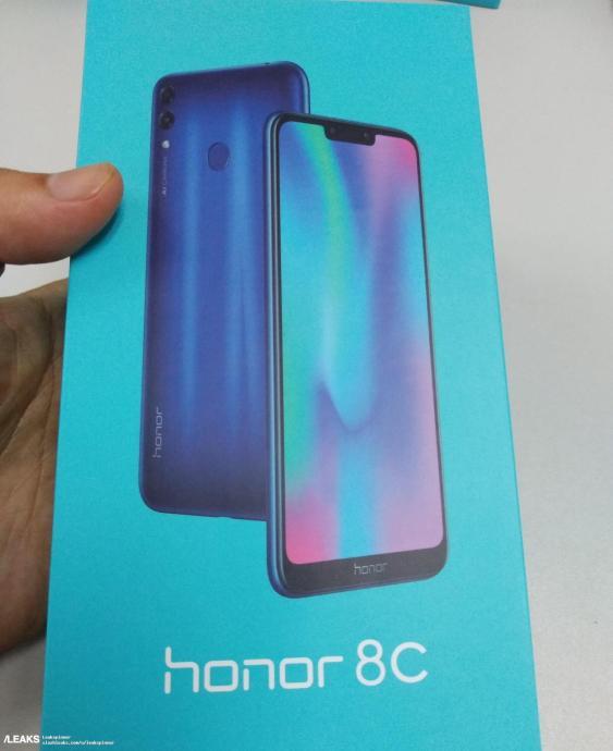 Honor 8c Box