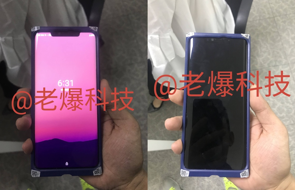 Huawei Mate 20 Pro Display Front Leak