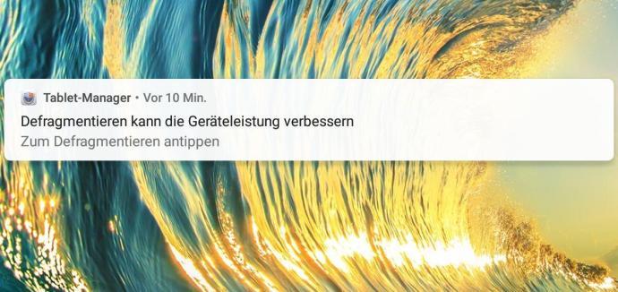 Huawei Mediapad M5 Lite Defragmentieren