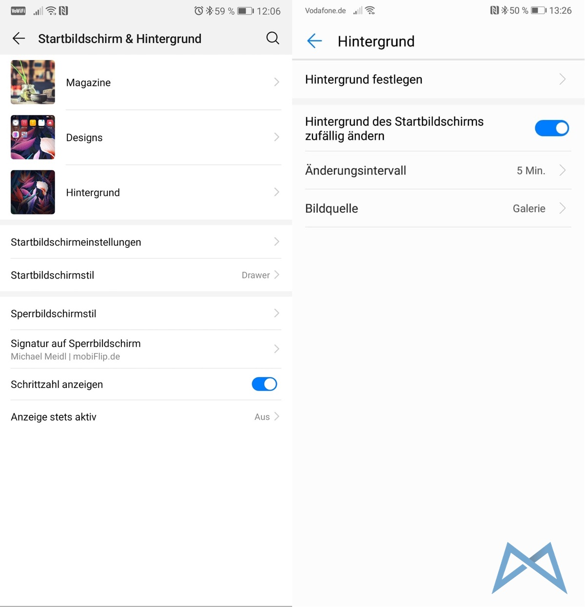 Huawei P20 Pro Android 9 Emui 9.0.0 Beta Background