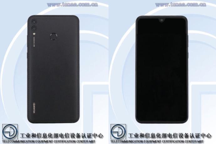 Huawei Tenaa Leder Dunkel