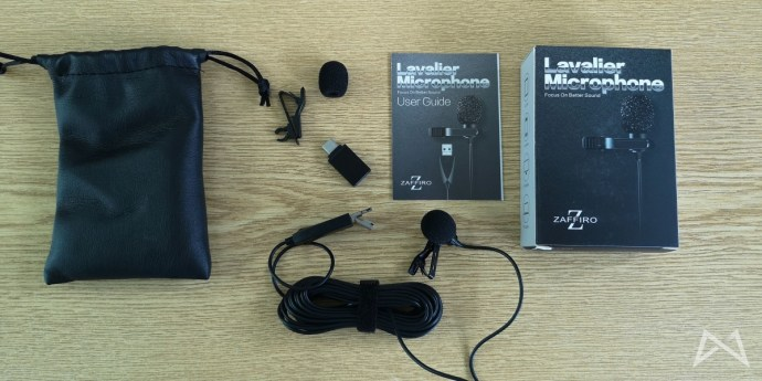 Lavalier Microphone Lieferumfang