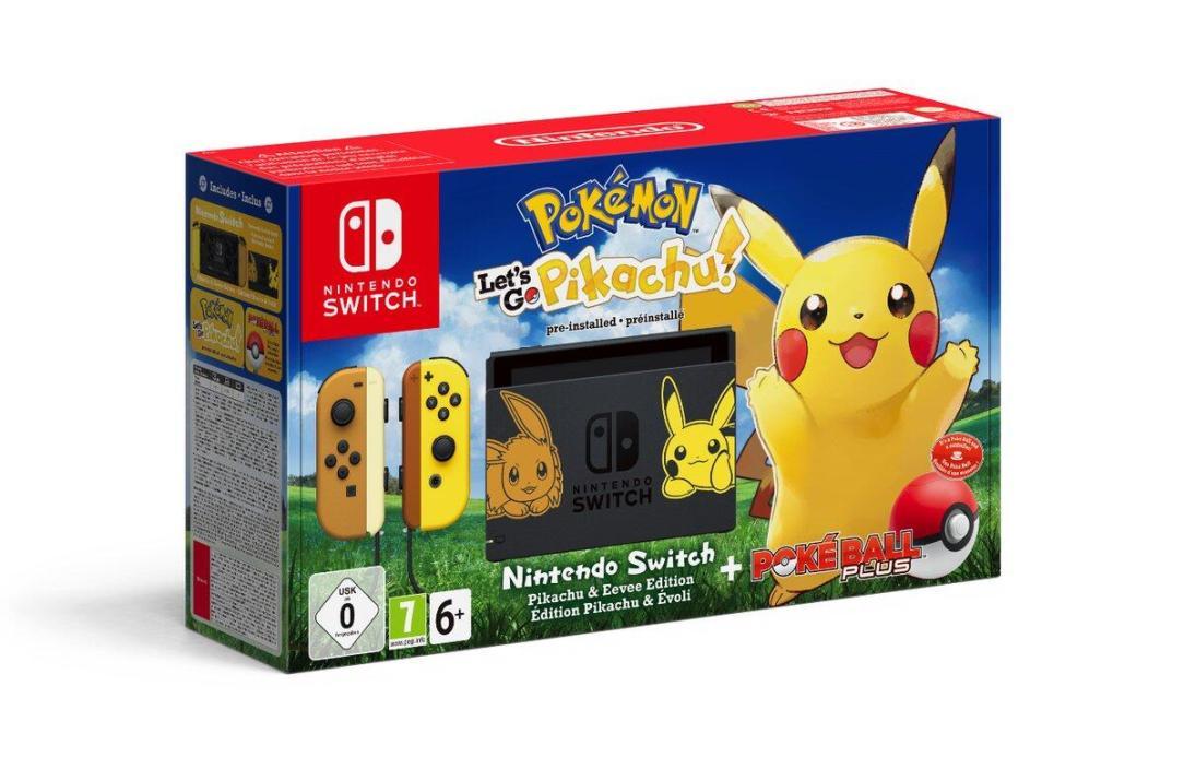 Nintendo Switch Pukachu Edition