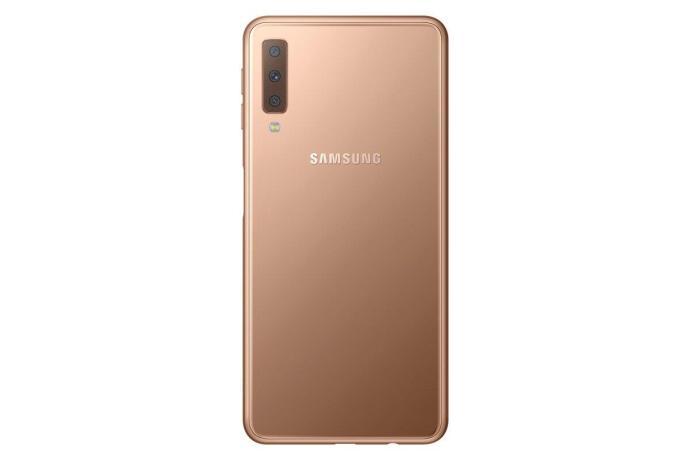 Sm A750f 002 Back Gold