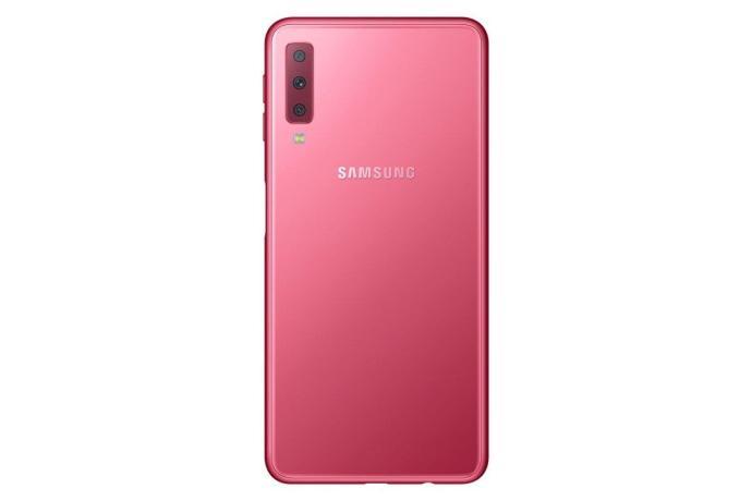 Sm A750f 002 Back Pink