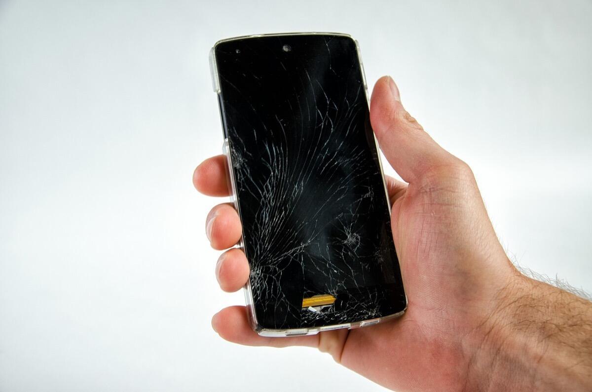 Smartphopne Kaputt Display Broken