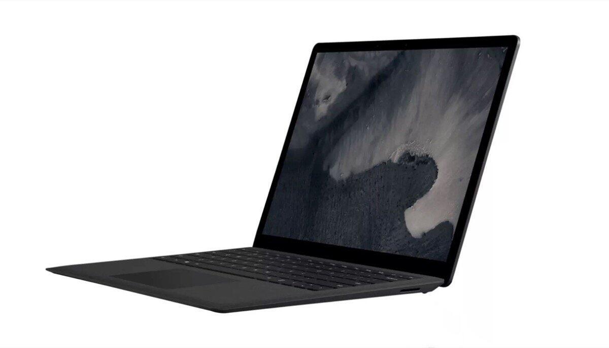 Surface Laptop 2 Schwarz Header