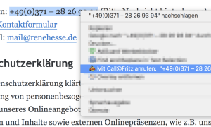 Waehlhilfe Chrome Fritzbox 5