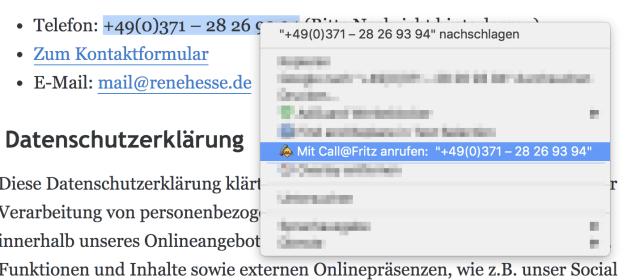 Waehlhilfe Chrome Fritzbox 5
