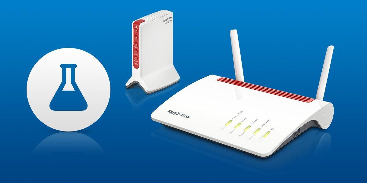 AVM FRITZ!Box 6890 LTE, 6850 LTE und 6820 LTE: Labor-Update bringt neue Modemfirmware
