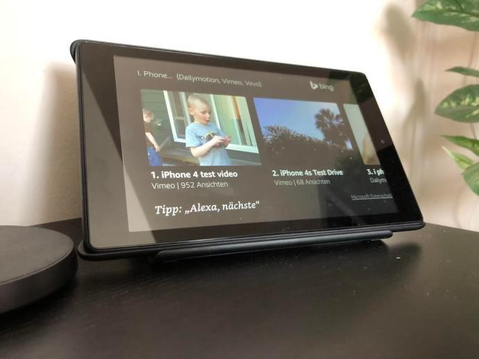 Amazon Fire Hd 8 Show Modus Test1