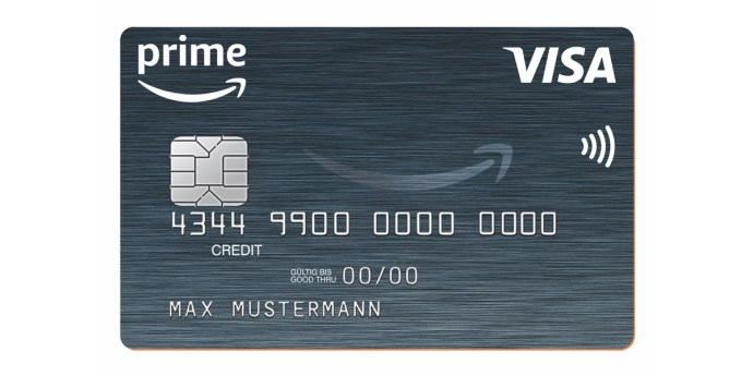 Amazon Prime Visa Credit Card
