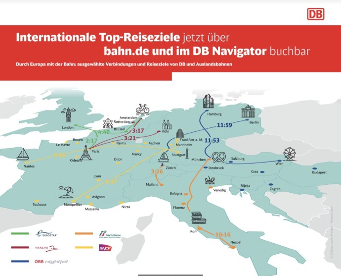 Db Navigator Auslands Reisen