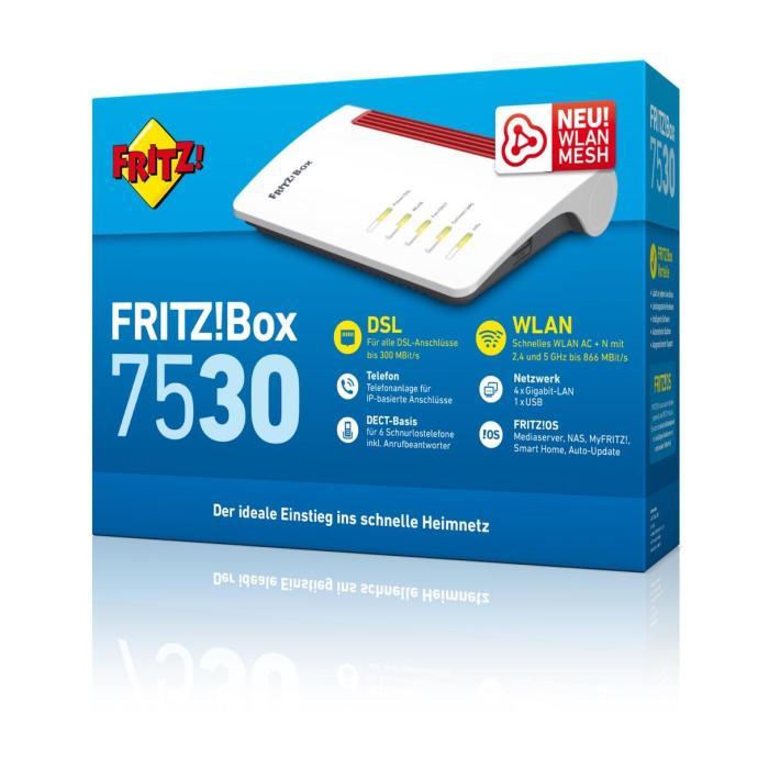 Fritz Box 7530 Verpackung