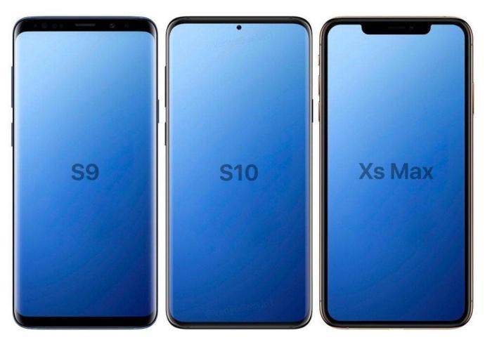 Galaxy S10 Mockup Vergleich