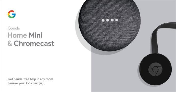 Google Home Mini Chromecast Kombo