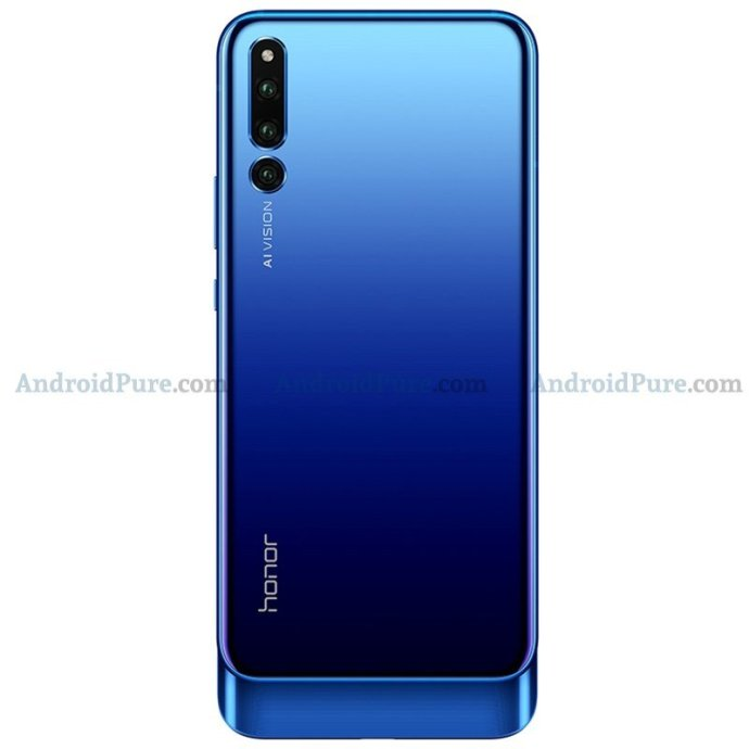 Honor Magic 2 Blau Slider