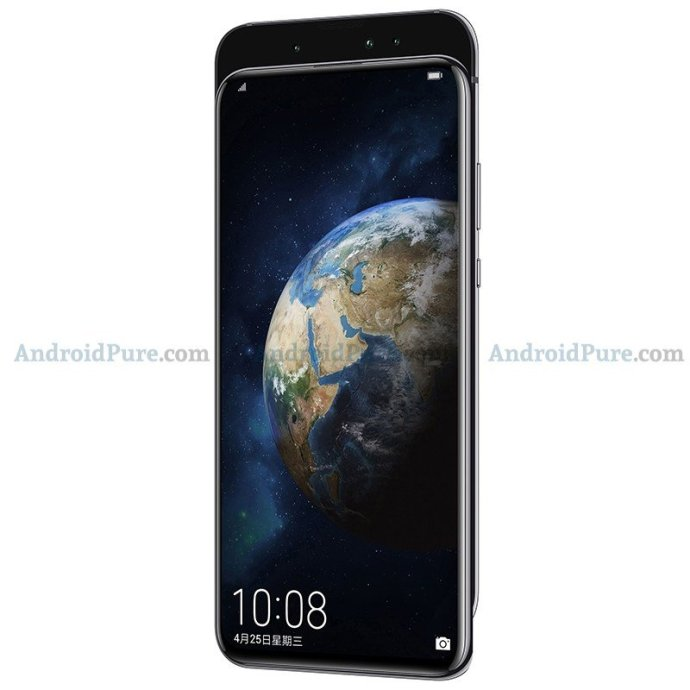 Honor Magic 2 Grau Front