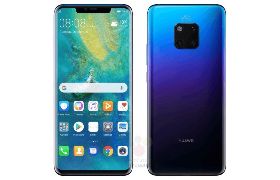 Huawei Mate 20 Pro Leaks Header