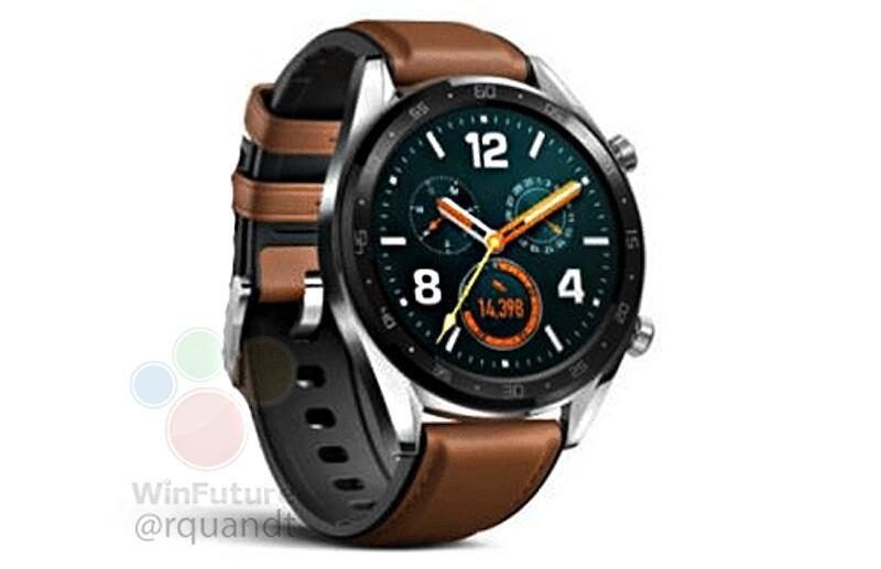 Huawei Watch Gt Classic Leak