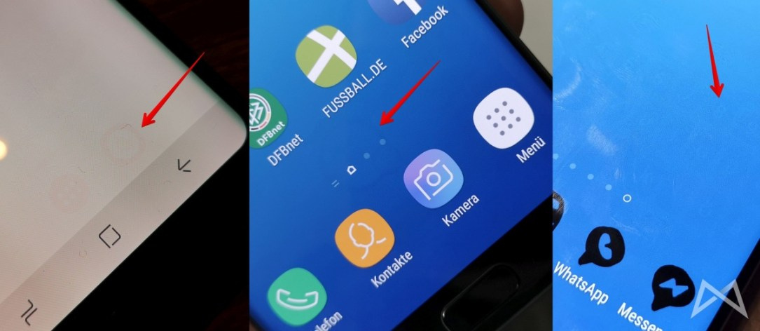 Samsung Galaxy S7 Und S8 Amoled Display Burnin