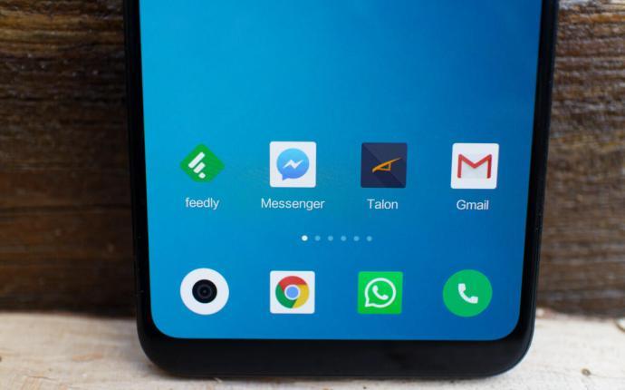 Xiaomi Mi 8 Software