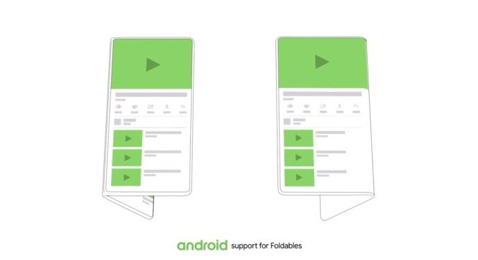 Android Google Displays Flatbar Ui