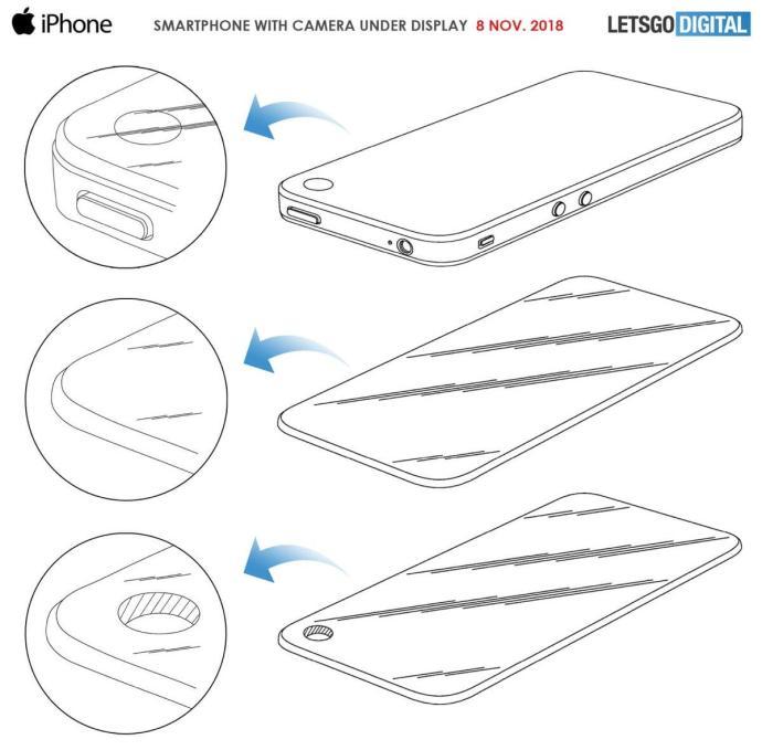 Apple Iphone Front Kamera Loch