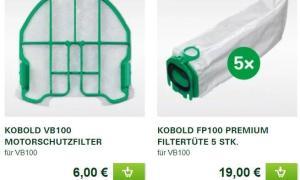 Filtertuete Motorschutzfilter