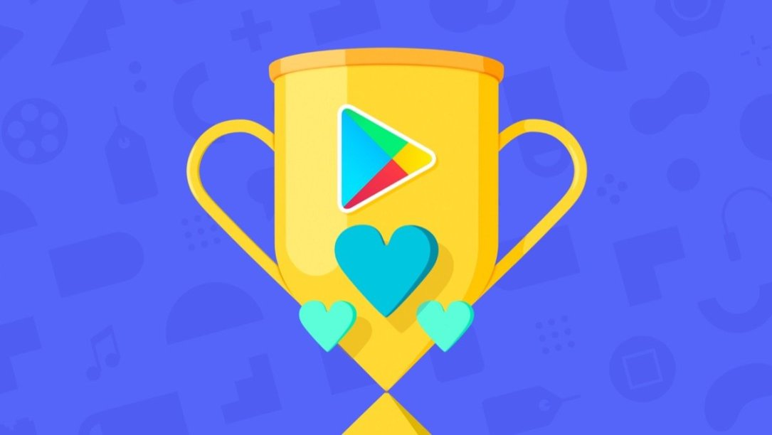 Google Play Store Award Header