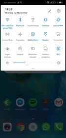 Huawei Mate 20 Notifications