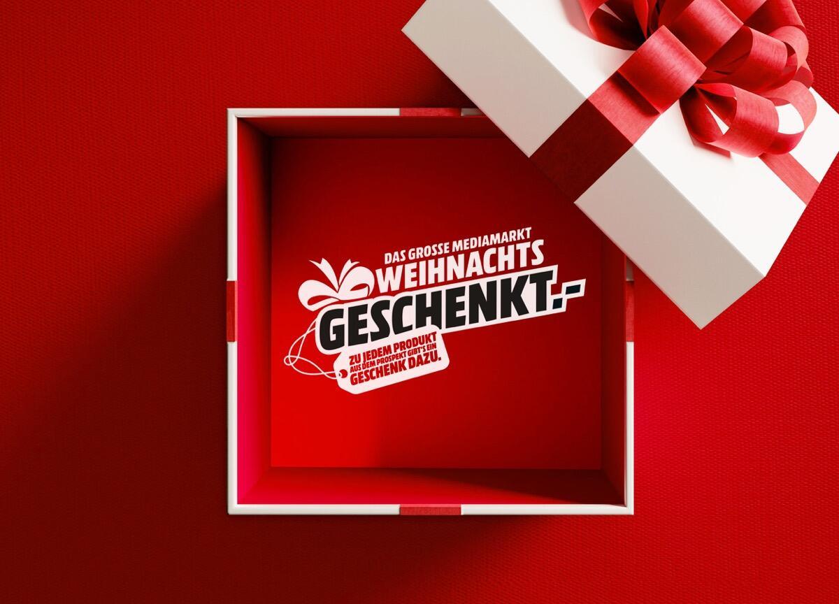 Mediamarkt Weihnachtsgeschenkt Aktion