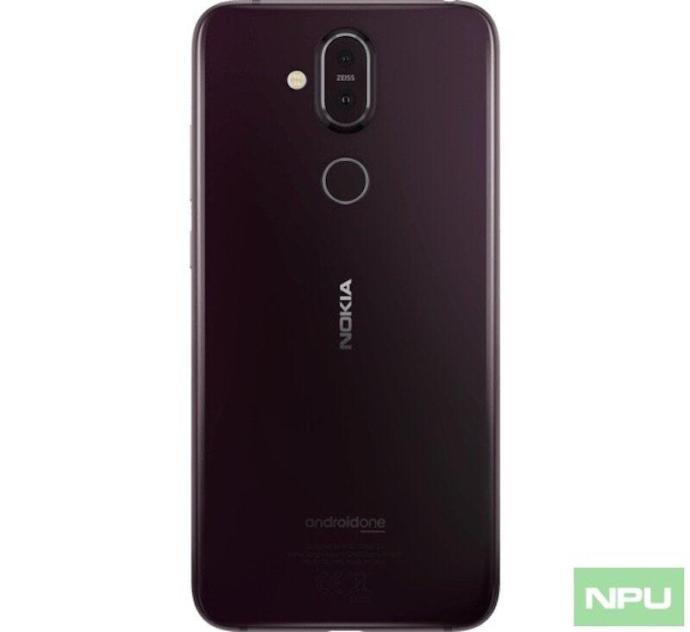 Nokia 8.1 Back