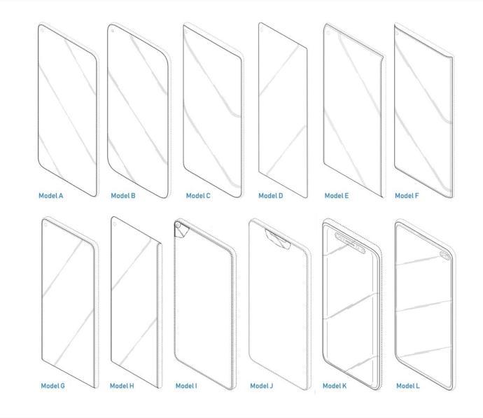 Samsung Galaxy S10 Patente